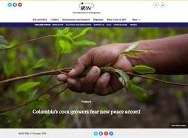 IRIN News – Colombia's coca growers fear new peace accord