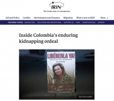 IRIN News –  Inside Colombia's enduring kidnapping ordeal